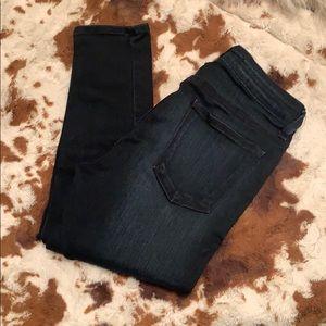 Just Black stretchy jeans dark blue denim